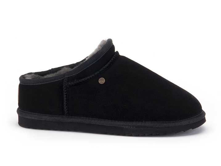 Warmbat Conner Men Suède Black  CNR421099-93