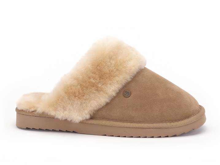 Warmbat Flurry Women Suède Camel  FLS321026