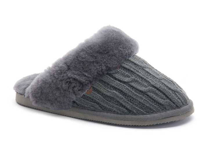 Warmbat Flurry Knitted Dark Grey  FLS324185-83