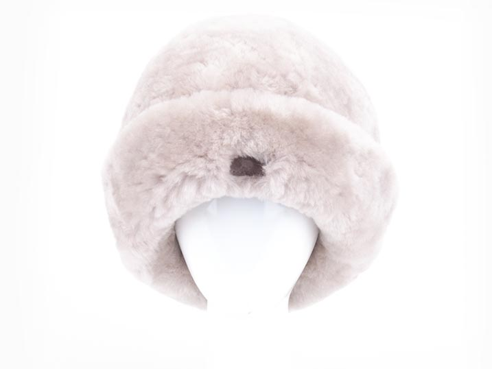 Warmbat Muts Jaylene sheepskin/fleece Liver  JLE607064