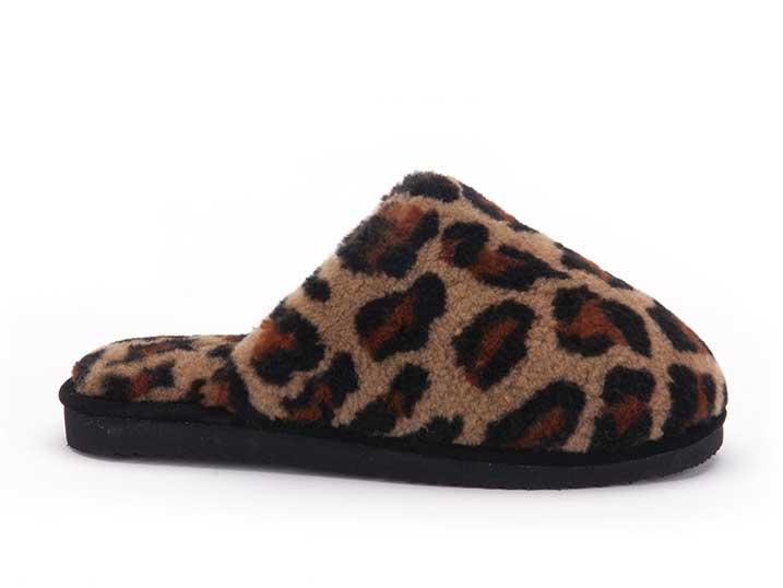 Warmbat Mungo Women Fur Print Panther  MNG321699
