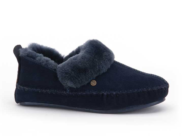 Warmbat Polarfox Women Suède Dark Navy  PFX341045-93