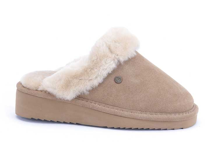 Warmbat Alice Women Suède Camel
