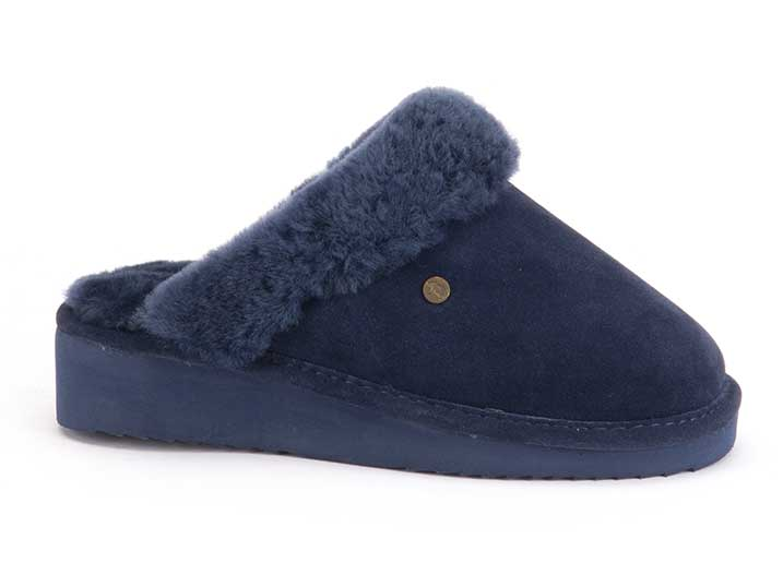 Warmbat Alice Women Suède Dark Navy