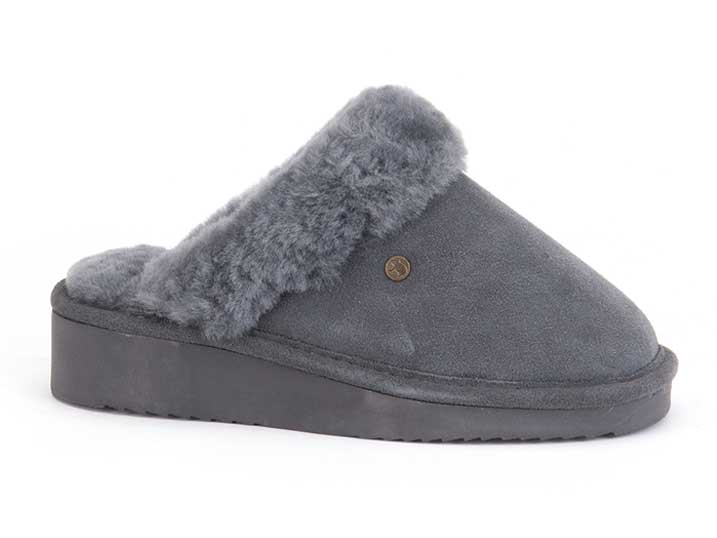 Warmbat Alice Women Suède Dark Grey
