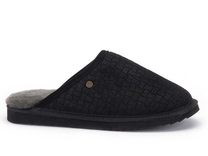 Warmbat Classic Suède Braided Black
