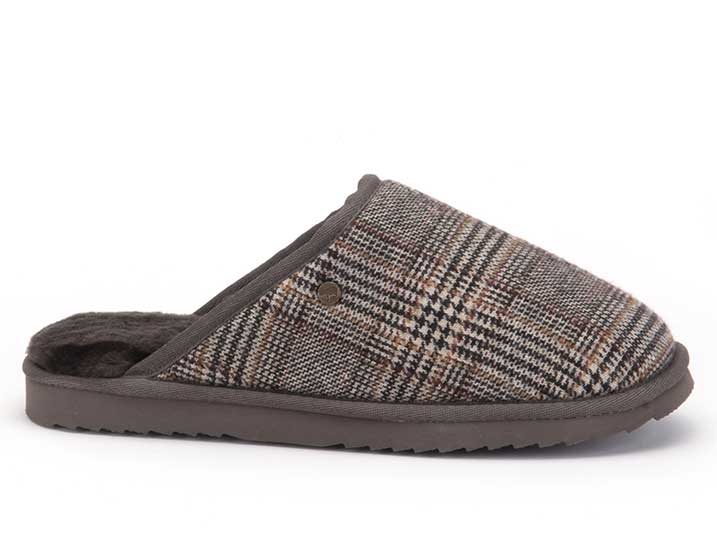 Warmbat Classic Woven Check Pebble