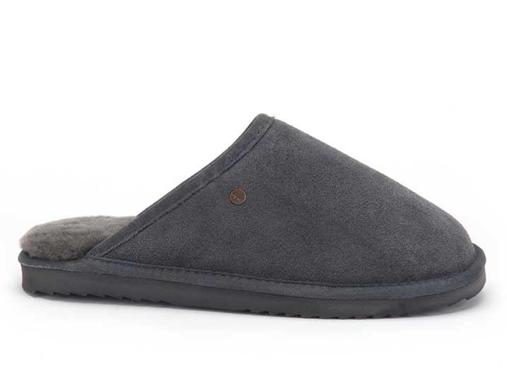 Warmbat Classic Unisex Suède Dark Grey