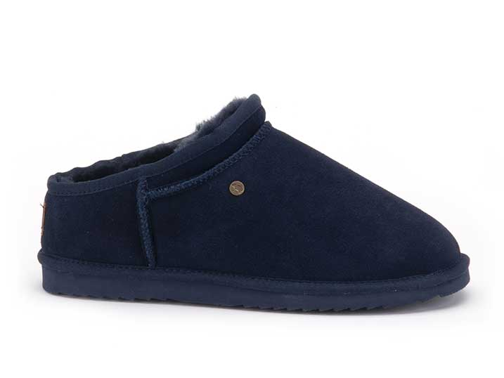 Warmbat Conner Men Suède Dark Navy