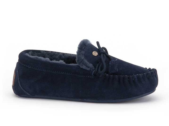 Warmbat Fjorda Women Suède Dark Navy