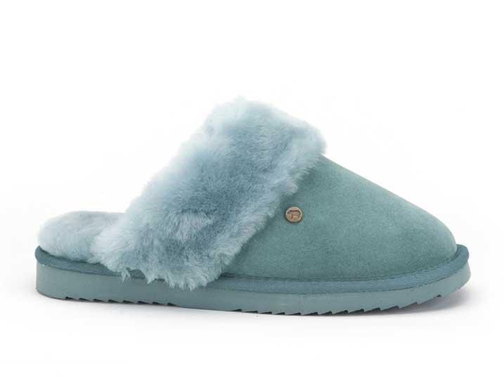 Warmbat Flurry Women Suède Turquoise
