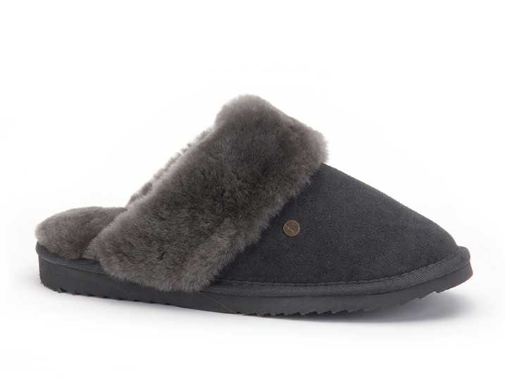 Warmbat Flurry Women Suède Dark Grey