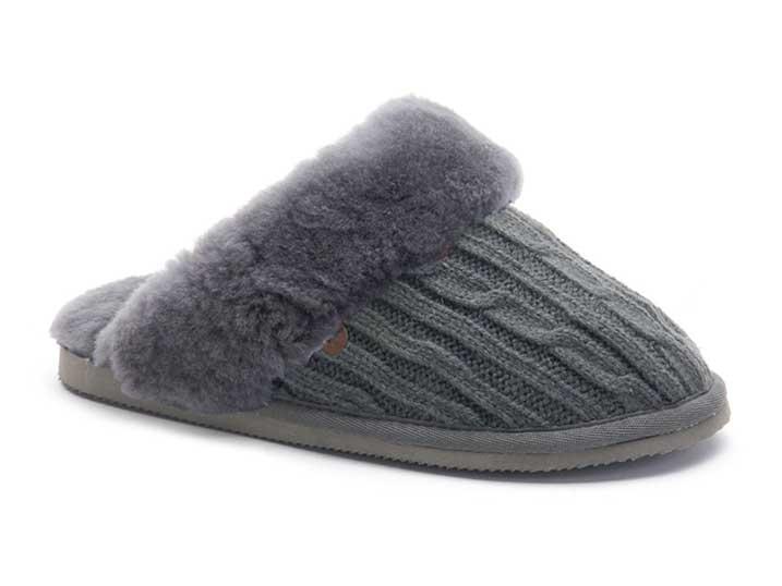 Warmbat Flurry Knitted Dark Grey