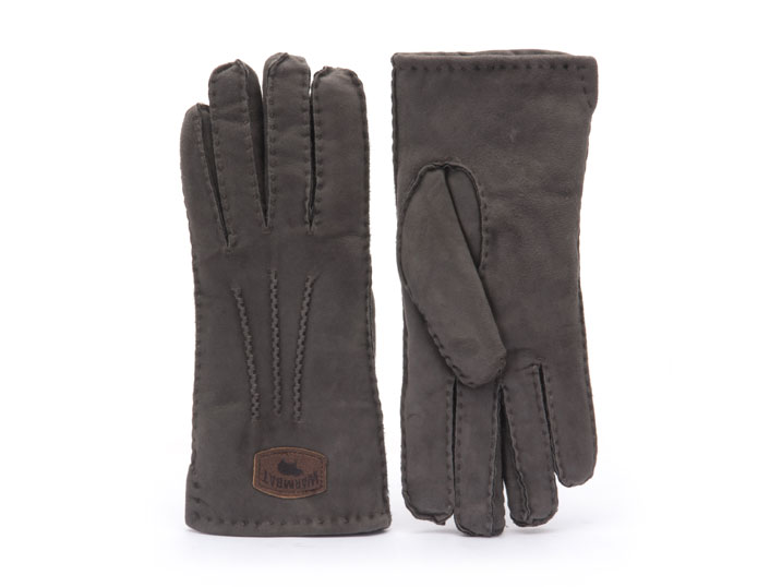 Warmbat Handschoen Dames Grey