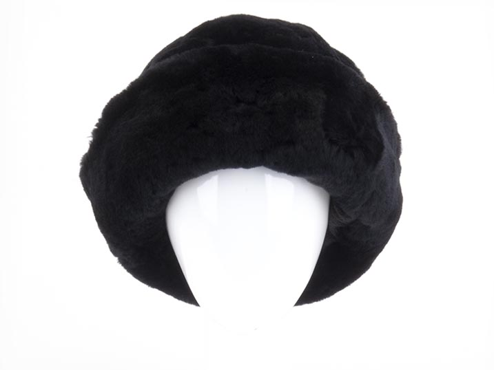 Warmbat Muts Jaylene sheepskin/fleece Black
