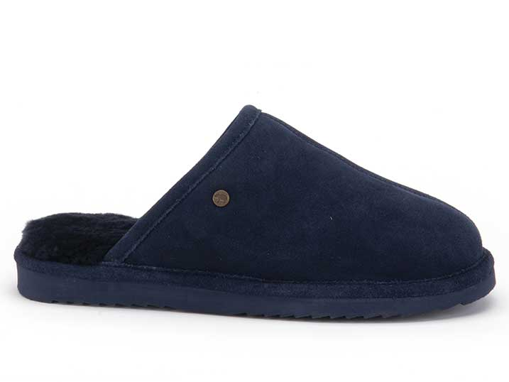 Warmbat Keith Men Suède Dark Navy