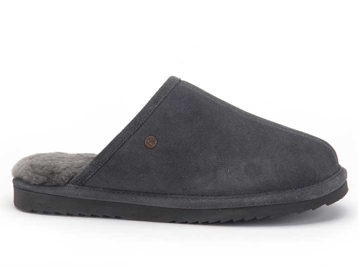 Warmbat Keith Men Suède Dark Grey