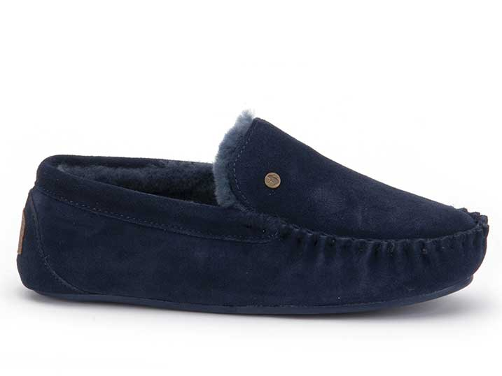 Warmbat Malmö Men Suède Dark Navy